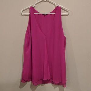 🍉 3/$20 Milano fuschia sleeveless top XL